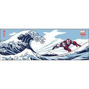 《人気キャラ》アイアンマン 日本たおる/波に富士