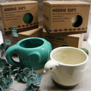 北欧テイストのかわいい食器★ノルディックカフェ マグカップ ゾウ★