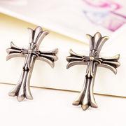DIY用デコパーツ 十字架パーツ - 手芸 クラフト 生地 材料   全2色