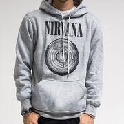 プルオーバー ロックパーカー Nirvana ニルヴァーナ サークルロゴ