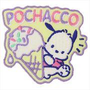 《コレクション》ポチャッコ アイロンパッチ/アイスクリーム