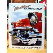 アメリカンブリキ看板 ベルエア -Chevy Heartbeat-