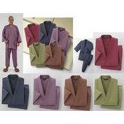 選べる5色・5サイズ!男女兼用綿100%作務衣