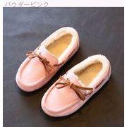 ウインター 新しいデザイン 韓国風 児童 スキッド 女児 革靴 ヒョウ プリンセスの靴 -続く(1)