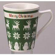 ●【クリスマス】クリスマスプを楽しく彩るクリスマスグッズ♪●メリークリスマス・マグカップ(1個)●