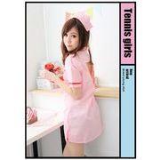 看護婦 ナース 制服 コスチューム コスプレ ハロウィン 仮装 衣装 2点セット XLサイズ bwn1084-5