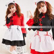 メイド服コスプレ チャイナドレスと姫ドレス完璧に結び付く チャイナドレス ドレス ハロウィン SALE