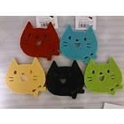 NEW★猫顔のカラフルコースター 2016