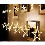 イルミネーション 五芒星 LEDクリスマス 会場アクセサリー クリスマス装飾品
