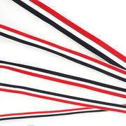 グログランリボン 選べる5サイズ トリコロール ストライプ ラッピング オーシャン 飾り 洋服 髪飾り