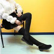 【自社工場】大人気 秋冬 レディース 靴 ハイヒール ロングブーツ オシャレ 225-250
