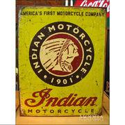 アメリカンブリキ看板 1934 Indian/インディアン