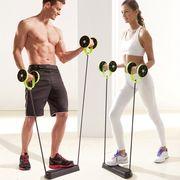 腹筋ローラー トレーニングチューブ 筋力トレーニング