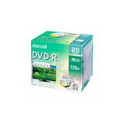 maxell DRD120PME20S 録画用DVD-R デザインプリントレーベルディスク