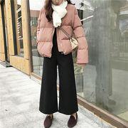コート 防寒保暖 無地 ファスナー ゆったり シンプル 全3色 r3001225