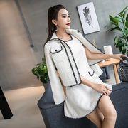 上下セット 2点セット スリム 無地 韓国風 ファッション #29165
