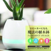 植木鉢 ワイヤレス ポータブル スピーカー Bluetooth 持ち運び アウトドア iphone android 高音質