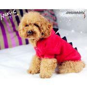 【自社工場】犬服 ペット 冬 愛犬 恐竜に変身 ハロウィン 洋服 犬の服