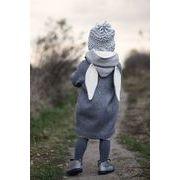 キッズ服、子供服、ジャケット、超可愛いうさぎ耳付きコート