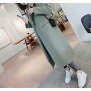 コート ゆったり 防寒保暖 無地 プレッピースタイル 韓国風 全2色 r3001477