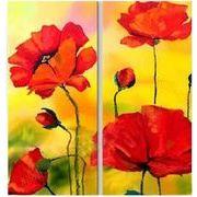 『アートパネル』【モダン】【インテリア】 【手書き】【壁掛け】【油絵】【抽象画】【自然画】【花画】