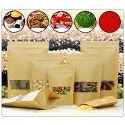 窓付き食品乾燥物入れお菓子入れ袋(紙製)包装資材