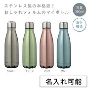 スプラッシュ ステンレスボトル360ml