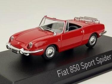 NOREV/ノレブ フィアット 850 スポーツスパイダー 1968 レッド
