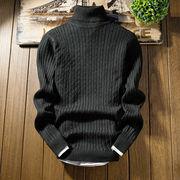 【ニュースタイル !!】★秋冬新作★メンズ★男性セーター★ハイネック★ファッション★6色