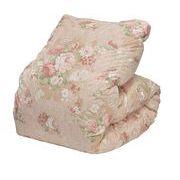 羽毛布団 シングル 増量タイプ1.3kg DP357 ファイングレードホワイトダックダウン85%使用 ピンク 日本製