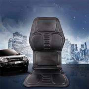 電動マッサージ車載用シートカバー PUレザー 運転をサポートする 全身、首、腰、背中マッサージ
