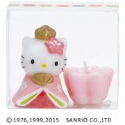 kameyama candle ハローキティひな祭りキャンドル 「 おひなさま 」