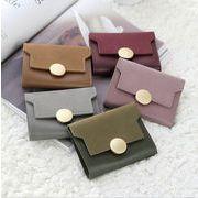 レディース 財布 コインケース コンパクト 持ち運びラクラク スエード オシャレ カワイイ 6色