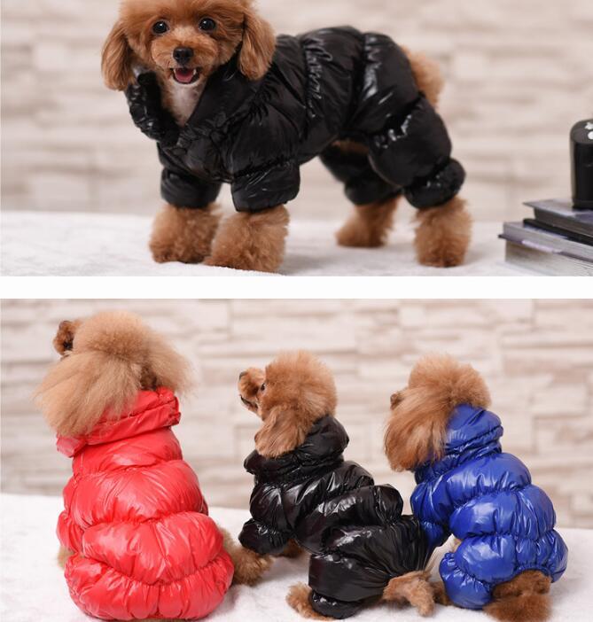 犬服 綿コート 3色入荷 XS-XXL ペット服 冬 ペット用品 ドッグ 厚手 つなぎ