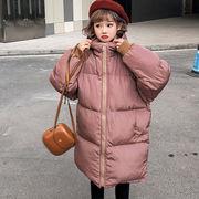 冬服 新しいデザイン 韓国風 ルース 中長デザイン ガールフレンド服装 コットンコート
