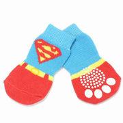 ドロップシッピングOK★ドッグウェア スーパーソックス(犬用靴下)