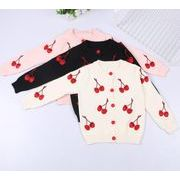 新作 キッズ服 親子服 キッズトップス カジュアル スウェット 刺繍 セーター ママと娘お揃い