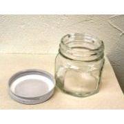 ジャム瓶(ビン) ふた付(約70ml)