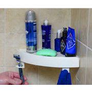 浴室ソープスタンド 強力吸盤ユニークソープスタンド