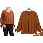 【大きいサイズL-4XL】【春夏新作】ファッションワイシャツ♪全4色◆