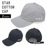 帽子 キャップ メンズ レディース ローキャップ 刺繍 ロゴ 星 コットン キーズ Keys