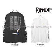 【リップンディップ】 RND1825 長袖Tシャツ スタンダーズ ロングスリーブ 全2色 メンズ レディース