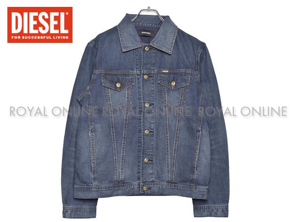 【ディーゼル】 デニムジャケット 00STPS 0IALA 001 NHILL Gジャン インディゴブルー メンズ
