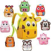 【対応年齢:1~3歳】キッズバッグ カバン 鞄 男女兼用 幼児バッグ 保育園 動物バック