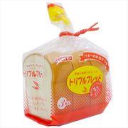 《新入学・新学期》食パン リアルパロディケシゴム/山型トリプルブレッド