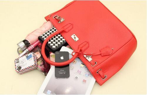 新作 ハンドバッグ 流行色 かわいい セレブ カラバリ豊富