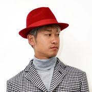 イタリア 帽子 ウール ハット ROSSO ARTIGIANO【ロッソアルティジアーノ】HAT RED 6713-3281
