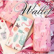 BLHW151538◆5000以上【送料無料】◆原宿風 フラミンゴ 財布 レディースサイフ