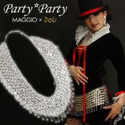 OUTLET価格▼MAGGIO▼【今宵はダンスナイト】ゴージャスに着飾りたいなら♪ ウエストアクセサリー