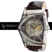正規品COGU自動巻き腕時計 コグ BS00T-BRG メンズ腕時計